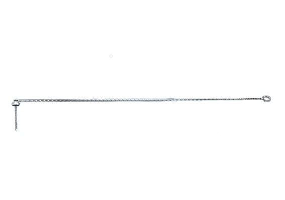日晴金属 E-AK-2 アンテナ部材 パラボラキャッチャー 支線引き止め金具 (50個)