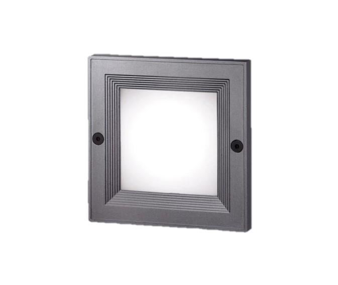 パナソニック NNY21235KLE1 壁埋込型(埋込ボックス取付) LED(昼白色) フットライト 防雨型