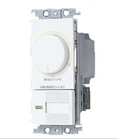 WTC57525WK 期間限定の激安セール パナソニック コスモシリーズワイド21 埋込調光スイッチC ほたるスイッチC ロータリー式 白熱灯用500W ホワイト 激安格安割引情報満載 500W AC100V