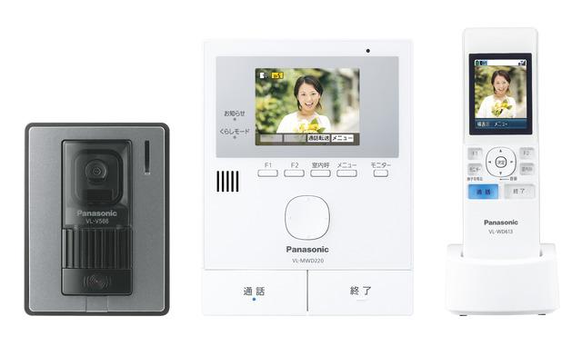 パナソニック VL-SWD220K ワイヤレスモニター付テレビドアホン 1-2タイプ (VLSWD220K)