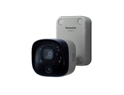 パナソニック VL-WD712X テレビドアホン センサー付屋外ワイヤレスカメラ 電源直結式 【VLWD712X】