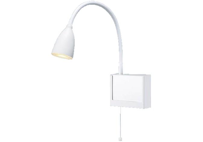 パナソニック NNF23108JLE1 病院用・高齢者福祉施設用 壁直付型 LED(電球色) ショートアーム式ベッドライト 読書用・プルスイッチ付