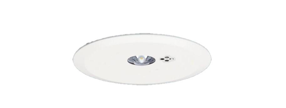 【特価商品】パナソニック NNFB91615J リニューアル用 天井埋込型 LED(昼白色) 非常用照明器具 一般型(30分間) リモコン自己点検機能付/埋込穴φ150