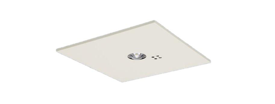 パナソニック NNFB91625J リニューアル用 天井埋込型 LED(昼白色) 非常用照明器具 一般型(30分間) リモコン自己点検機能付/埋込穴□150