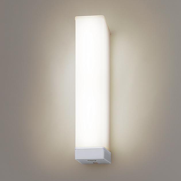 【受注生産品】パナソニック NNFS21832JLE9 壁直付型 LED(電球色) ウォールライト ステンレス製 防雨型・ひとセンサON/OFF・EEセンサ機能付