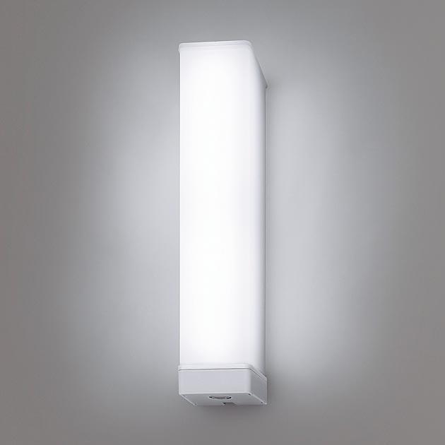 パナソニック NNFS21852JLE9 壁直付型 LED(昼白色) ウォールライト ステンレス製 防雨型・ひとセンサ段調光・EEセンサ機能付