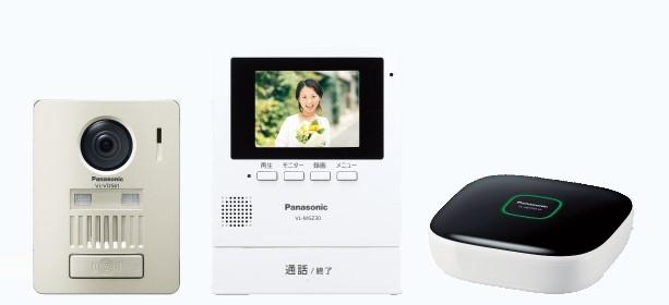 パナソニック VL-SGZ30K ワイヤレステレビドアホン ホームネットワークドアホン 集合住宅【VLSGZ30K】配線工事不要 無線 スマートフォン対応
