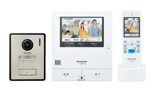 VL-SWD505KF SEAL限定商品 パナソニック テレビドアホン 希少 録画機能付 電源コード式 VLSWD505KF Panasonic