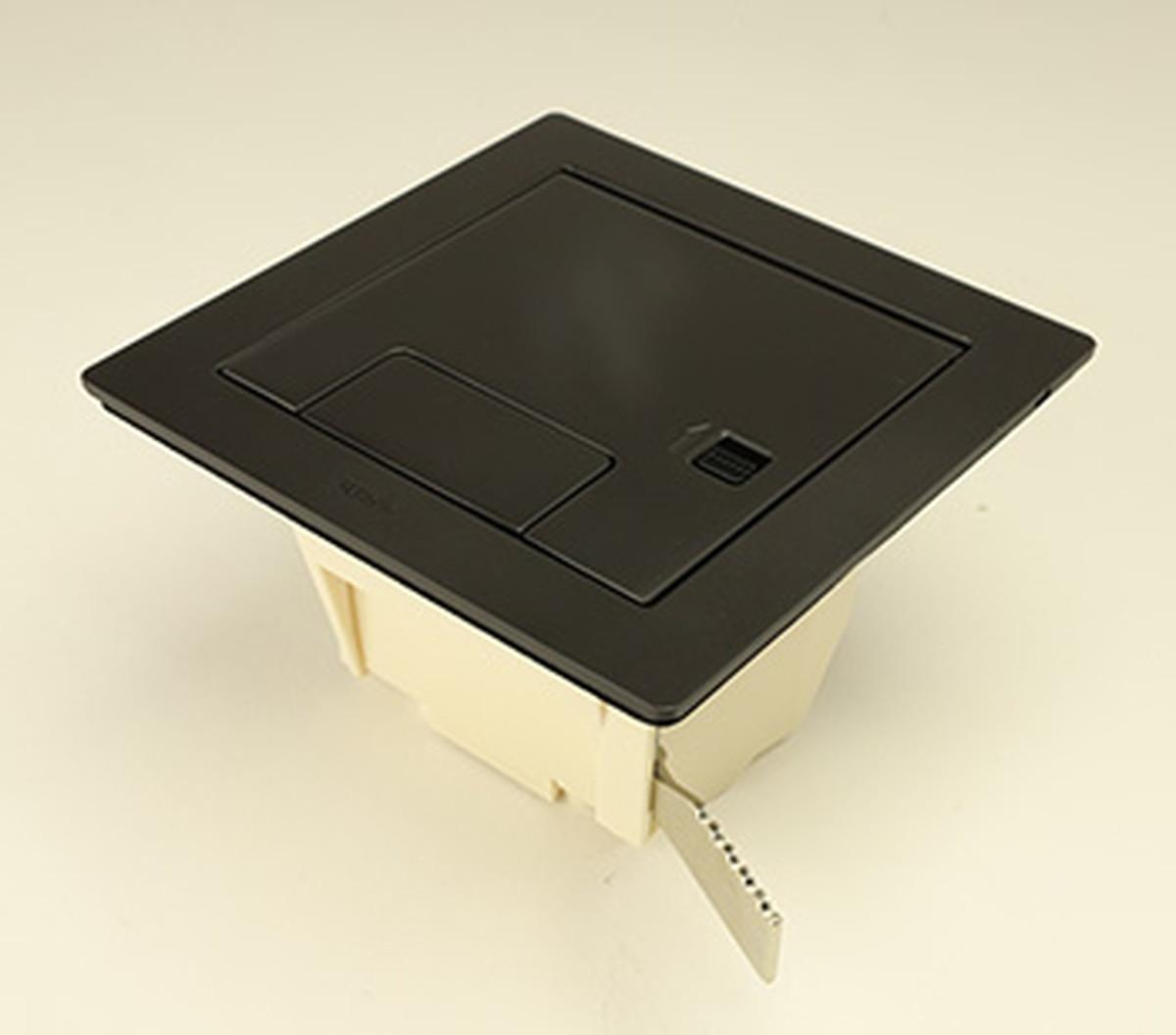 寺田電機 CEA80000BK ボックス+プレート(ブラック)
