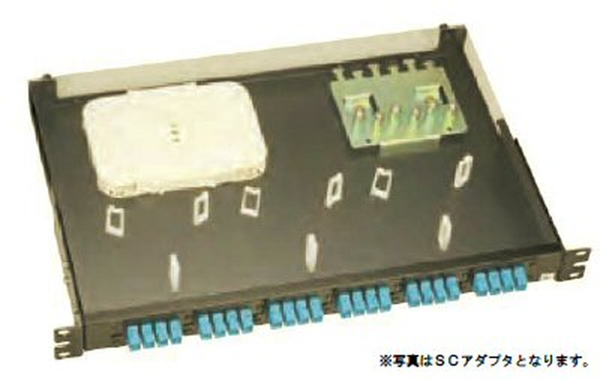 【受注品】寺田電機 FPD11216T FPD 1U 16芯 LC(2連式) テープ芯線用