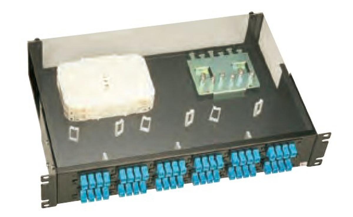 【受注品】寺田電機 FPD20228T FPD 2U 28芯 SC テープ芯線用
