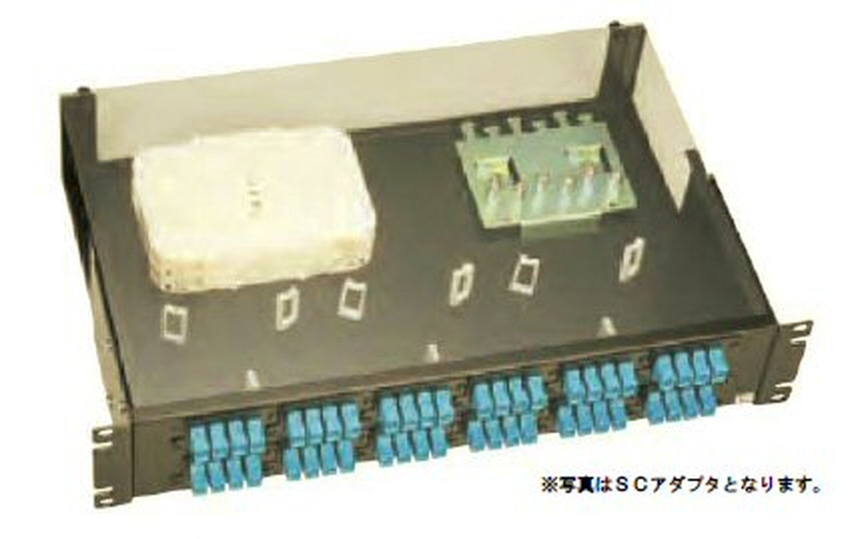 【受注品】寺田電機 FPD21296T FPD 2U 96芯 LC(2連式) テープ芯線用