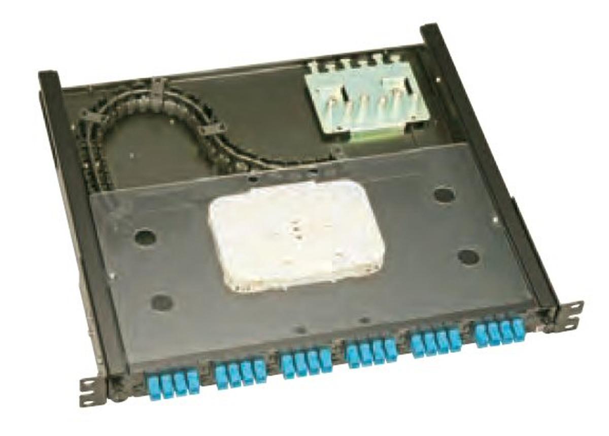 【受注品】寺田電機 FPF10212T FPF 1U 12芯 SC テープ芯線用