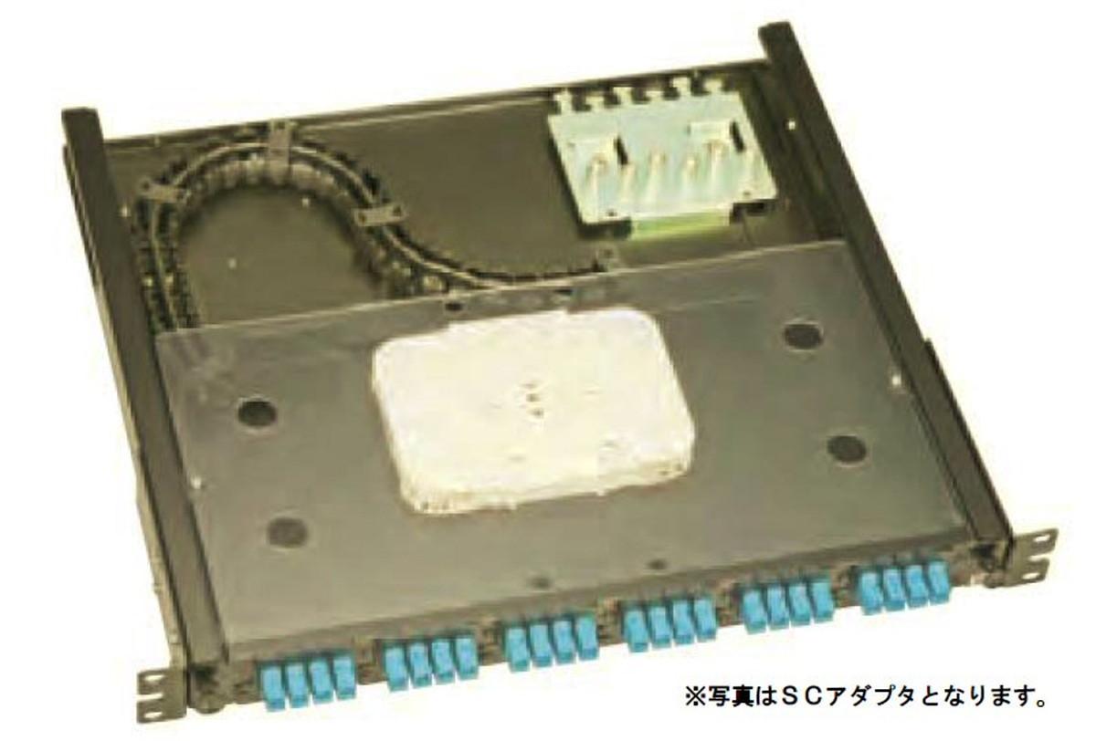 【受注品】寺田電機 FPF11208 FPF 1U 8芯 LC(2連式)