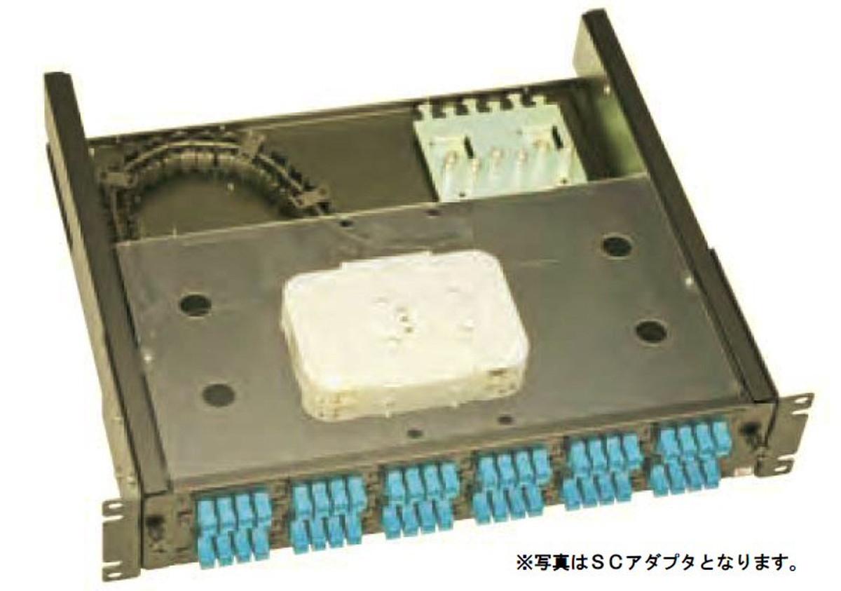 【受注品】寺田電機 FPF21288T FPF 2U 88芯 LC(2連式) テープ芯線用