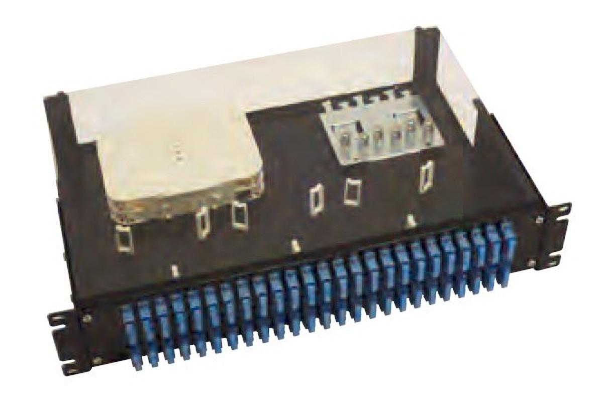 寺田電機 FPL203100T FPL 2U 100芯 SC(2連式) テープ芯線用