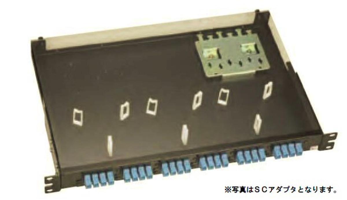 【受注品】寺田電機 FPN11208 FPN 1U 8芯 LC(2連式)