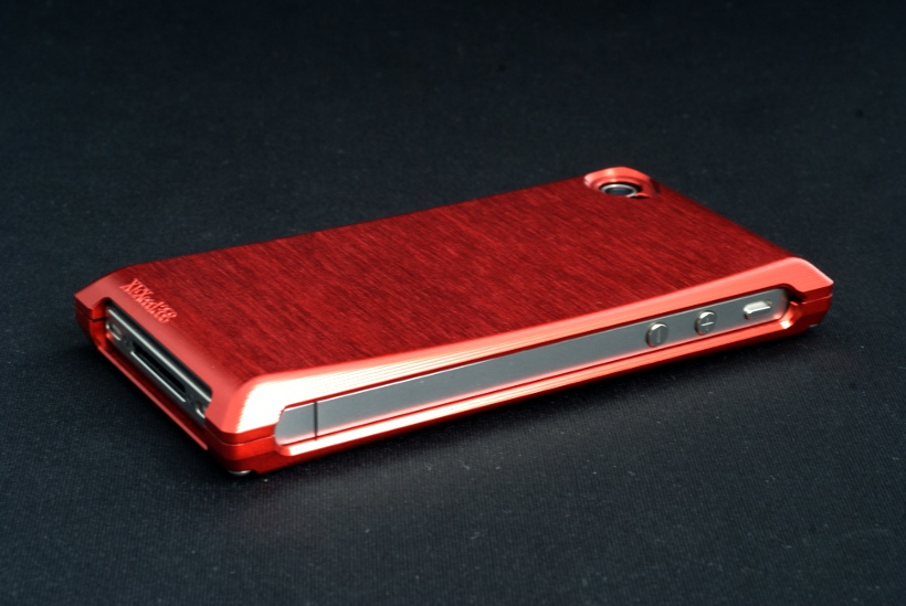 【iPhone4S/4】XEXeed358 Flow Veil for iPhone4S/4 ファイティングレッド 【メール便不可】