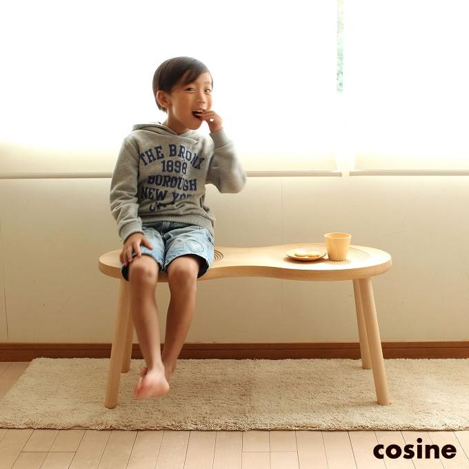 cosine コサイン Peanut Stool ピーナッツスツール メープル材オイル仕上げ 無垢 スツール サイドテーブル【送料無料】