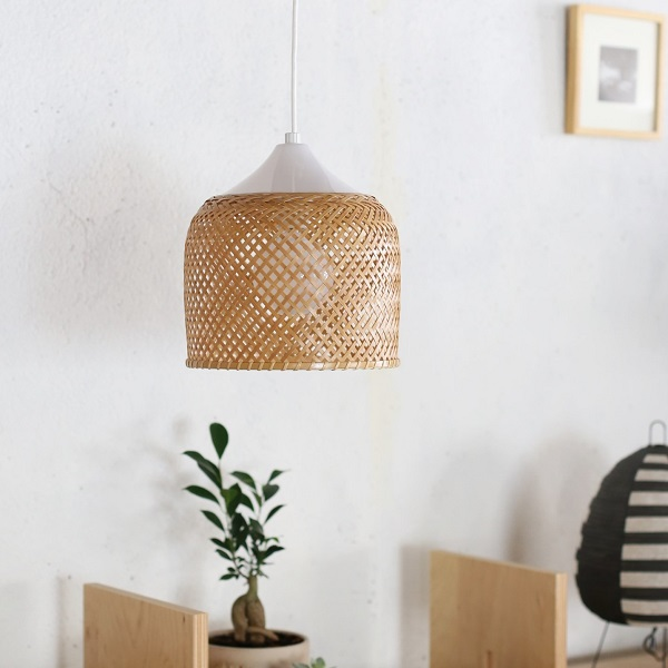 SK Lamp Bell/鐘型 近藤昭作 Shosaku Kondo エスケーランプ 竹製シェード 日本製 メトロクス