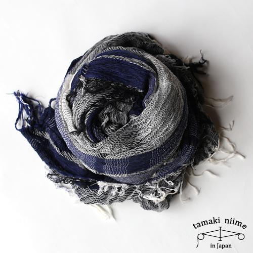 tamaki niime 玉木新雌 basic shawl cotton big 15/ ベーシックショール コットン ビッグ 15 【送料無料】【tamakiniime】