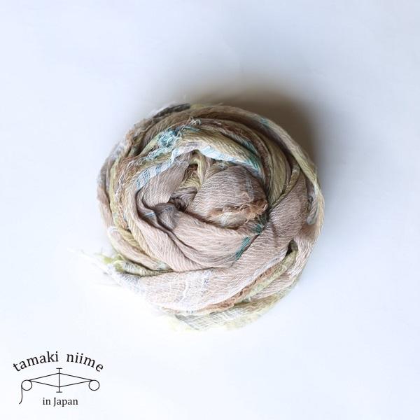 【2019SS企画展作品】tamaki niime 玉木新雌 roots shawl cotton big RSB_C19_19SS/ ルーツショール コットン 100% ビッグ【送料無料】tamakiniime