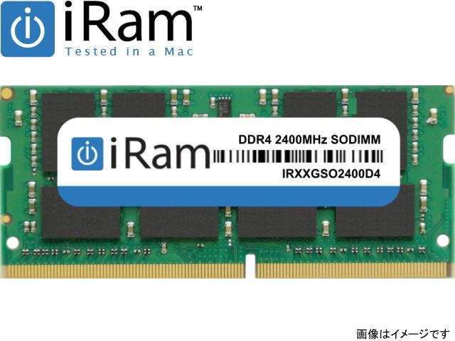 iRam Technology Mac用 SO-DIMM DDR4 2400MHz 8GB Apple専用増設メモリ