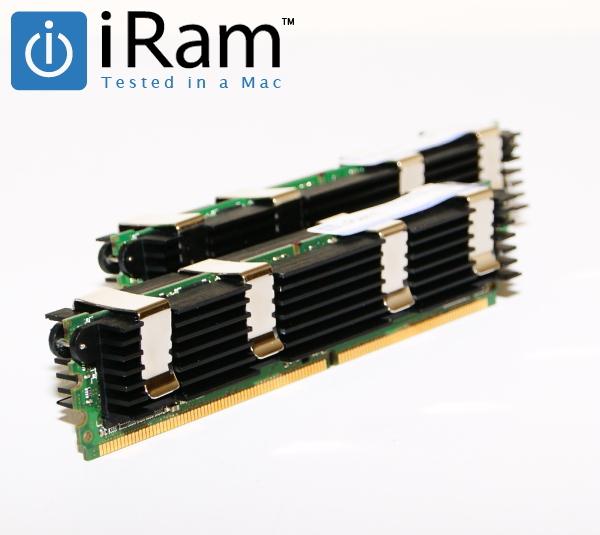 アップル用増設メモリ スーパーセール Mac対応 Apple純正互換 年中無休 iRam Technology Mac用 FB-DIMM DDR2 Apple専用増設メモリ 2x4GB MacPro Eary2008 8GB for 800MHz