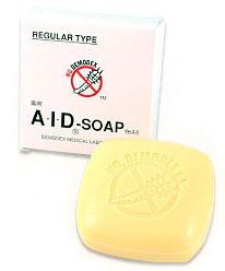AID SOAP (SOAP face mites) 130 g Dani anti mite acne skin mites face mites measures face mites wash acne Dani