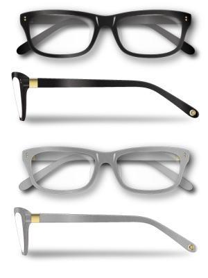 ポイント10倍!6/4 20時~6/11 2時)Re・aesfou<リエスファ>天然石配合フレーム眼鏡COLLECTION-Aフレーム:グレーのみレンズ:クリア眼鏡ケース付き(2色よりお選びください)