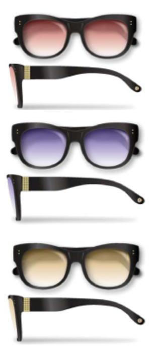 Re・aesfou<リエスファ>天然石配合フレーム眼鏡COLLECTION-C-クロレンズ色<クリア・レッド・ブルー・イエロー>眼鏡ケース付き(3色よりお選びください)