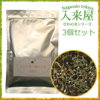 从枇杷叶和种子的茶 (50 g x 3 袋) 血长崎糖值 / 血压 / 多酚 / 抗氧化作用 / 稀有糖 / 糖尿病 /