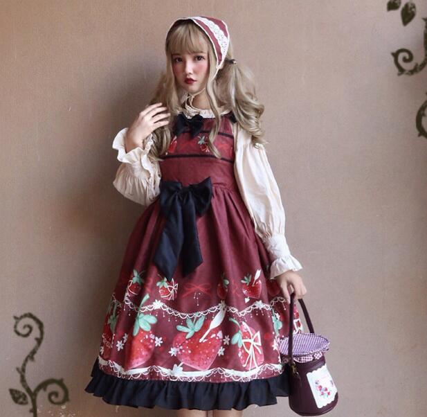 【IRIS】送料無料 ロリータ ワンピース コスプレ コスロリ 可愛い 姫様 3点セット ワンピ lolita