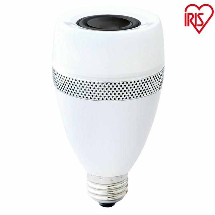 スピーカー付LED電球 E26 40形相当 電球色 LDF11L-G-4S 2個セット アイリスオーヤマ