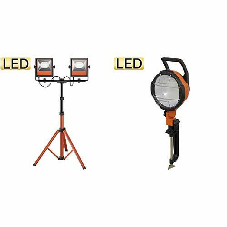 led投光器 LEDスタンドライト ワークライト 現場 仕事 作業灯 作業用照明 業務用 10000lm LWT-10000ST アイリスオーヤマ
