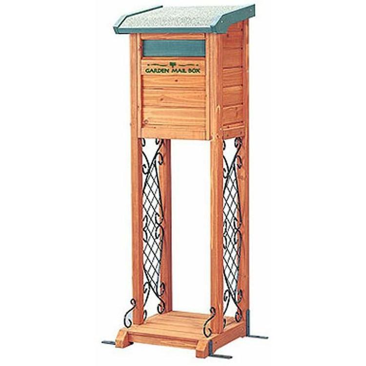 郵便受け ポスト 木製 メールボックス アイリスオーヤマ