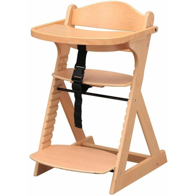 テーブル付き 再再販 ご注文で当日配送 ハイチェア グローアップチェア ベビーチェア 赤ちゃん 椅子 送料無料 チェリーブラウン ナチュラル D 木製ベビー用 ホワイトウォッシュ