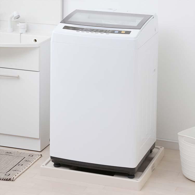 洗濯機 全自動洗濯機 7kg IAW-N71一人暮らし ひとり暮らし 小型 コンパクト 部屋干し 洗濯 せんたく 洗濯物 全自動 せんたっき きれい キレイ 引っ越し 単身 新生活 すすぎ ホワイト 白 アイリスオーヤマ