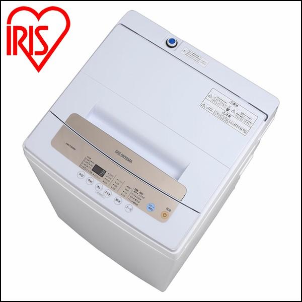 全自動洗濯機 5.0kg IAW-T502EN 送料無料 洗濯機 全自動 5kg 一人暮らし ひとり暮らし 単身 新生活 部屋干し 1人 2人 アイリスオーヤマ