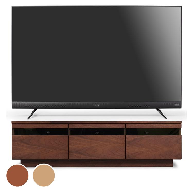 4Kテレビ フロントスピーカー 55v 完成品テレビ台 BTS-GD150U 送料無料 テレビ テレビ台 セット TV 4K 55V 55型 完成品 ガラス アイリスオーヤマ