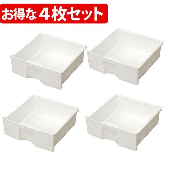 カラーボックス 引き出し 価格 横置き 激安通販ショッピング CXH-27P ホワイト プラスチック 書棚 収納ラック 本棚 おしゃれ 4個セット アイリスオーヤマ