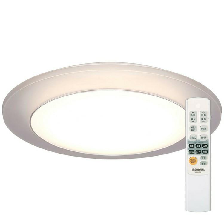 LEDシーリングライト 間接照明 12畳 調色 CL12DL-IDR 送料無料 LED シーリングライト シーリング 照明 ライト LED照明 天井照明 照明器具 メタルサーキット 調光 省エネ 節電 リビング ダイニング 寝室 アイリスオーヤマ[irispoint]