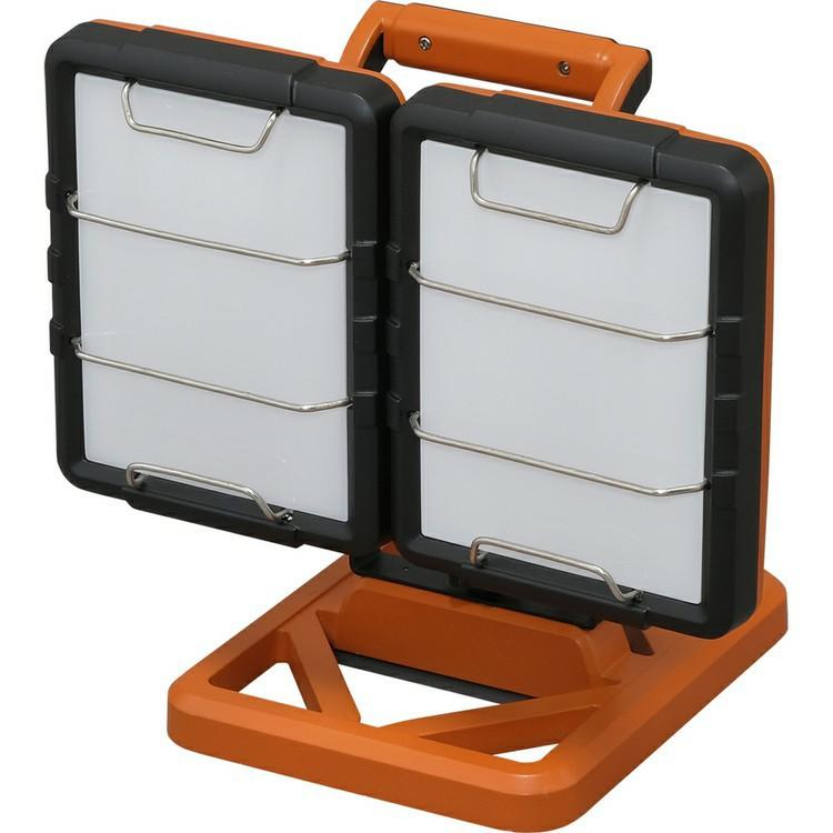 LEDべースライト AC式 10000lm LWT-10000B-AJ べースライト スタンドライト 照明 LED LEDライト LED照明 ライト 明かり 投光器 作業灯 長寿命 省電力 作業用品 LED投光器 屋内 2灯 置き型 軽量 アイリスオーヤマ[iriscoupon]
