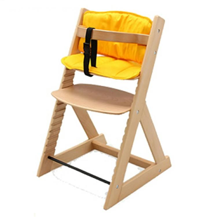 <title>ベビーチェア キッズチェア 木製 ハイチェア チェア 赤ちゃん 椅子 木製ハイチェア+クッションセット 送料無料 爆買い新作 全6種 D</title>