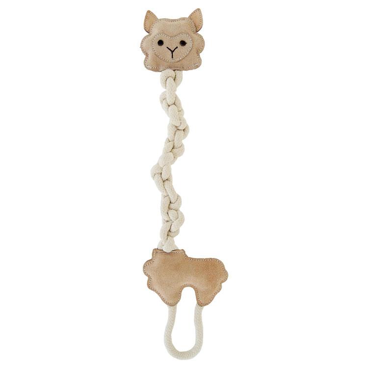 くびながロープアルパカりん 犬用 ドッグ イヌ おもちゃ 紐 じゃらし アルパカ 動物用 ペッツルート 【TC】