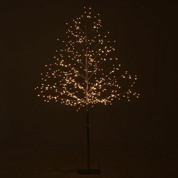 ミニLEDツリー 180CM ホワイト 16436 送料無料 クリスマスツリー ミニツリー LED LEDライト イルミネーション クリスマス Xmas 北欧 不二貿易 【D】