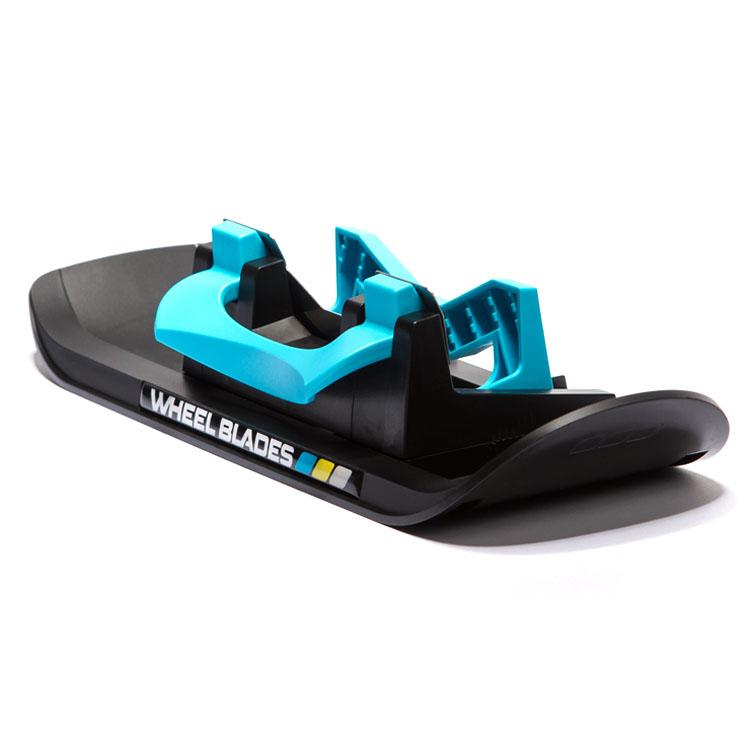 ベビーカー用スキー板 ホリールプレードXL ブラック×ブルー 12575001 送料無料 スキー板 おでかけ 雪道 ベビーカー 子供 WHEELBLADES GMBH 【D】【B】