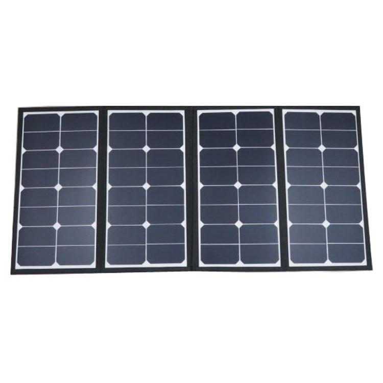 ソーラーパネル NPS-101 送料無料 ソーラーパネル 停電 充電 電源 レジャー キャンプ アウトドア 大容量 軽量 携行型 【D】