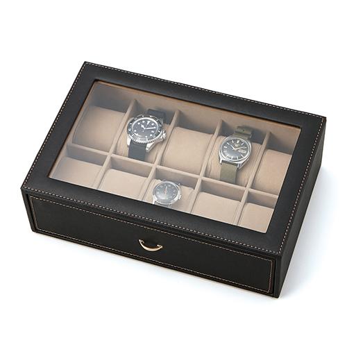 クーポン発行中【コレクションケース腕時計ケース】ウォッチケース腕時計収納コレクション【おしゃれ小物ケース腕時計ケースアクセサリーケースレザーケース小物収納収納ケースギフト母の日父の日】