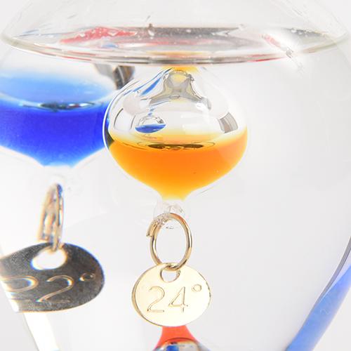 【ガリレオ温度計/サイエンス/科学/ガリレオ】ガラスフロート温度計電球ひらめき333-208【FunScience】【20P07Feb16】【HLS_DU/ギフト】